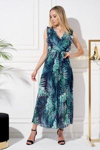 Sukienka Ella Boutique maxi z dekoltem w kształcie litery v