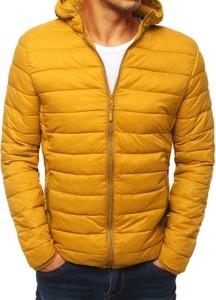 Żółta kurtka Dstreet