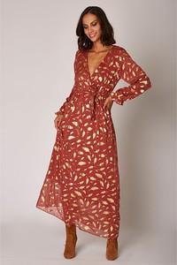 Sukienka Special Dresses maxi z dekoltem w kształcie litery v