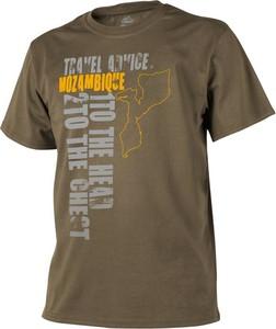 T-shirt HELIKON-TEX z bawełny z krótkim rękawem