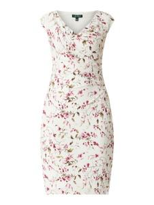 Sukienka Ralph Lauren dopasowana mini bez rękawów