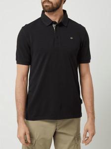 Czarna koszulka polo Napapijri