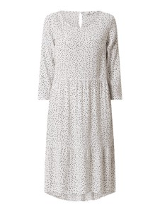Sukienka Tom Tailor z okrągłym dekoltem midi
