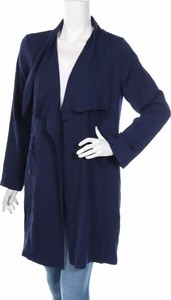 Niebieski płaszcz Katies w stylu casual