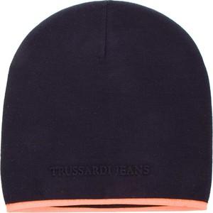 Niebieska czapka Trussardi Jeans