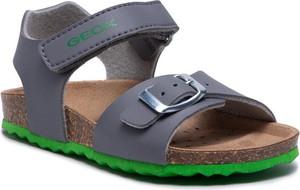 Buty dziecięce letnie Geox ze skóry dla chłopców
