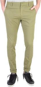 Zielone spodnie Dondup w stylu casual