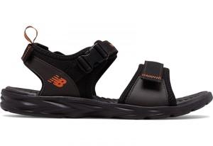 Buty letnie męskie New Balance w stylu casual na rzepy