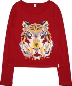 Czerwona bluzka dziecięca Esprit