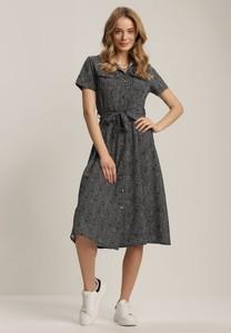 Sukienka Renee z krótkim rękawem z okrągłym dekoltem