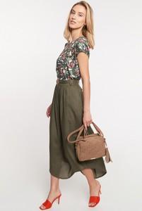 Zielona spódnica QUIOSQUE w stylu klasycznym midi