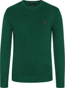Zielony sweter POLO RALPH LAUREN z dzianiny