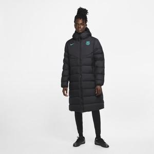 Czarna kurtka Nike długa w stylu casual