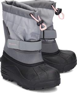 Buty dziecięce zimowe Columbia na rzepy