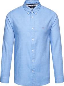 Niebieska koszula Tommy Hilfiger