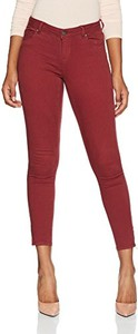Czerwone jeansy Only