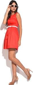 Sukienka William De Faye mini z okrągłym dekoltem