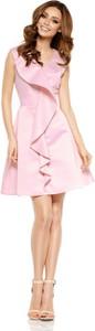 Różowa sukienka Lemoniade bez rękawów mini