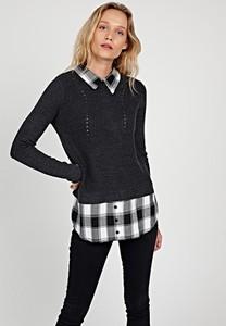 Sweter Gate z bawełny w stylu casual
