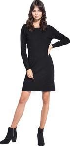 af38652f1f Sukienka William De Faye trapezowa z okrągłym dekoltem mini