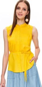 Żółta koszula Top Secret