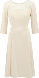 Sukienka Premiera Dona z długim rękawem