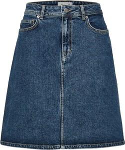 Niebieska spódnica Selected Femme