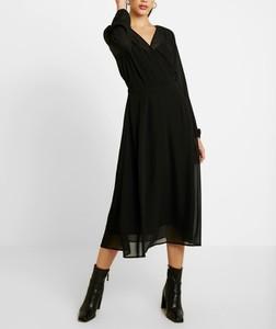 Czarna sukienka Vero Moda w stylu casual prosta