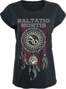 T-shirt Saltatio Mortis z bawełny z nadrukiem