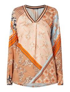 Pomarańczowa bluzka Betty Barclay z długim rękawem