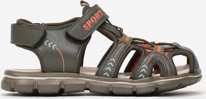 Zielone buty dziecięce letnie born2be