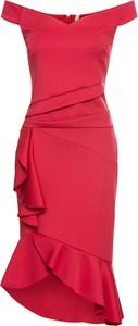 Sukienka bonprix BODYFLIRT boutique hiszpanka bez rękawów