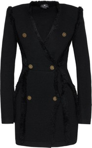 Czarna sukienka Elisabetta Franchi mini