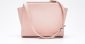 Cropp - torebka typu shopper - różowy