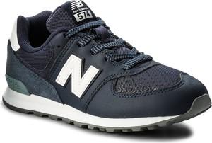Czarne buty sportowe dziecięce New Balance