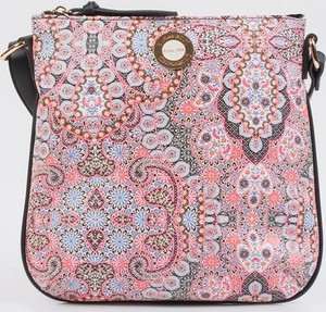 4c3e85c6e851a Różowa torebka Monnari w stylu casual na ramię