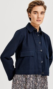 Granatowa kurtka Opus w stylu casual