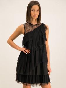 Sukienka Liu-Jo bez rękawów z okrągłym dekoltem