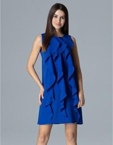 Sukienka Figl bez rękawów trapezowa mini
