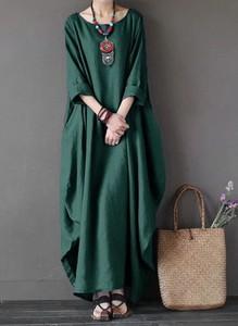 Zielona sukienka Arilook maxi