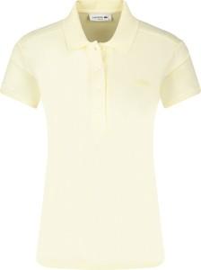 Bluzka Lacoste z krótkim rękawem