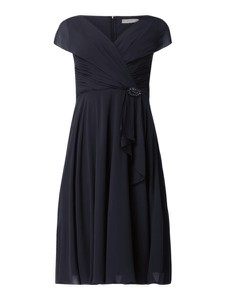Sukienka Christian Berg Cocktail z krótkim rękawem mini