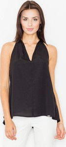 Bluzka Figl bez rękawów z dekoltem w kształcie litery v