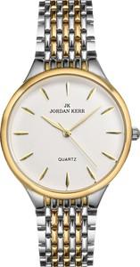 Zegarek damski Jordan Kerr L1022 - Srebrno-złoty bt