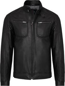 Czarna kurtka Lavard ze skóry