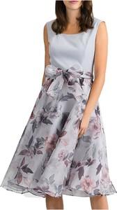 Sukienka Joseph Ribkoff bez rękawów rozkloszowana