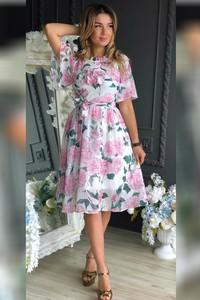 738f02a686 Sukienki z krótkim rękawem