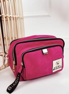 Różowa torebka Laura Biaggi do ręki