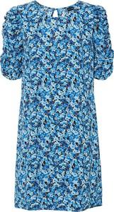 Sukienka bonprix mini z krótkim rękawem w stylu casual