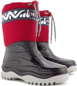 Buty dziecięce zimowe Demar sznurowane
